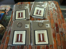 """Mansfield 4 lot Grommet panel curtain drapes Mocha 50"""" x 84"""" New in package"""