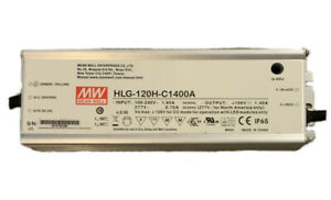 MeanWell HLG-120H-C1400A 150 W LED Treiber
