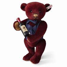 Steiff Sommelier Wine Teddy Bear EAN 674037 European Limited Edition