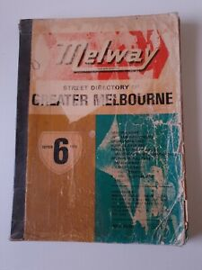 Melway Street Directory Of Greater Melbourne 1973 Edition 6