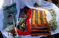 Lot 4 Scarves 1 New Vera Neumann 2 Silk Bill Blass & Echo & Cotton Flamingo's