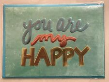 Papyrus Greeting Card Happy Anniversary New in packaging - You Are My Happy