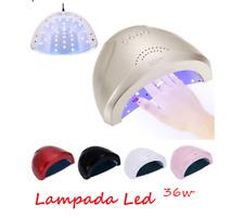 LAMPADA FORNETTO LED UV 36W MANICURE TIMER SENSORE RICOSTRUZIONE UNGHIE NAIL ART