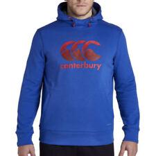 Sweats, polaires et hoodies de fitness bleus coton pour homme