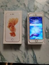 Apple iPhone 6s - 16GB - Rose Gold A1687 Excellent Locked To Carrier
