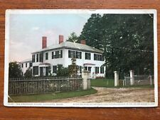 The Emerson House, Concord MA Vintage Postcard