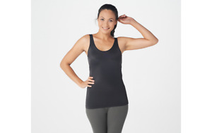 Spanx Smooth It Reversible Scoop Neck Reverses V-Neck Tank Size 1X A366415
