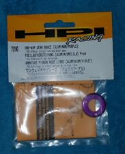 HPI Pro4 Aluminium One-Way Gear Brace Purple 75010 RS4