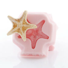 Silicone Mold Knobby Starfish Mold Polymer Clay Resin Mints Candy Fondant (884