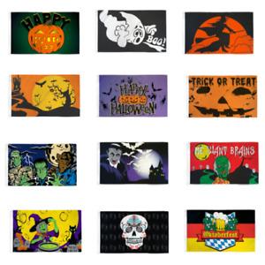 Halloween Flags Halloween Skull Halloween Witch Zombie 3x5ft Polyester