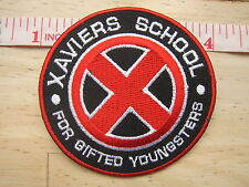 X-MEN Xavier's School for Gifted Youngsters Logo embroidered Iron on Patch