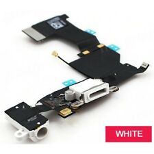 New iPhone 5c Charging Port Replacement Charger Flex USB Dock White
