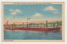 Linen Auto Ferry, Norfork Lake, near West Plains, MO c. 1950 Missouri