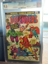 DEFENDERS 9 (RARE DOUBLE COVER) CGC (9.6+) Battles THE AVENGERS ONLY KNOWN COPY