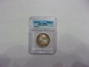1919 C India British Rupee ICG MS62