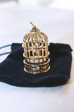 2007 Estee Lauder Gilded Bird Cage Solid Perfume With Box