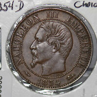 France 1854 D 5 Centimes  290088 combine shipping