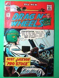 "NOVEMBER 1972 DRAG N' WHEELS SCOT JACKSON IN ""PRO STOCK"" CHARLTON COMICS #56"
