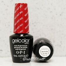 OPI GelColor Brazil Glamazons Collection 2014 - RED HOT RIO GC A70 > Ship in 24H