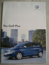 VW Golf Plus range brochure Nov 2006 + price list