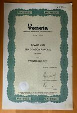 Veneta - Verenigde Nederlandse Tapijtindustrie - Hilversum