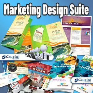 Marketing Design Suite, Graphic Design Art and Desktop Publisher Software Suite