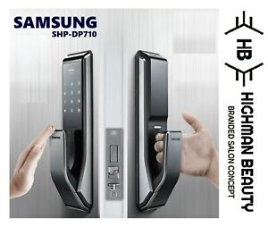 SAMSUNG SHP-DP710 Or P710 Key Less PUSH PULL Digital Smart Door Lock
