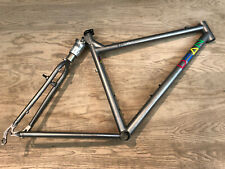 "Dean Duke YBB Soft Tail Titanium Mountain Bike Frame 26"" Strata Shock Pro Medium"