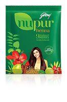 Nupur Henna Mehandi Powder 400g New Pack  9 Herbs Hair Color 100% Natural USA