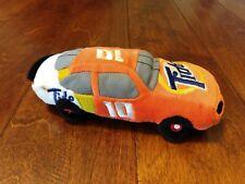 "NASCAR Beanie Plush Racers Car #10 8"" Tide Ricky Rudd Soft Stuffed"