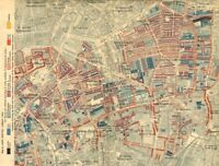 HOXTON CLERKENWELL Charles Booth poverty map Old Street St Luke's Finsbury 1902