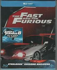 BLU RAY : THE FAST AND THE FURIOUS 1 ED. STEEL BOOK  NUOVO SIGILLATO
