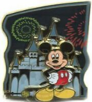 Disney Pin 54462 WDW Passholder Exclusive Magic Kingdom 2007 Mickey Mouse LE