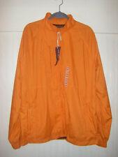 NWT Sperry Topsider Men's XL Orange Jacket Windbreaker - Please see description