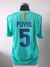 Carles PUYOL #5 BNWT Barcelona Away Football Shirt Jersey 2010/11 (XL)