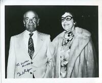 Frank Capra Autograph Silent Movie Director It's A Wonderful Life Signed Photo