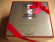 LANCOME GIFT BOX EMPTY WITH RED RIBBON AND INSERT 20 x 20 x 9cm EXCELLENT CON.