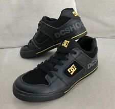 DC Shoes Black Low-Top Skateboard Sneakers Youth Men's 7Y US Excellent