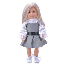 Hot Madame Handmade fashion Doll Clothes dress For 18 inch Girl Doll HP
