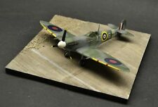 DIO72 no.72022 Wooden airstrip base 1:72 scale aeroplane diorama display base