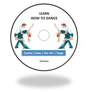 Learn to Dance Foxtrot   Salsa   Cha Cha   Tango Ballroom Dancing on DVD-Rom+D/L