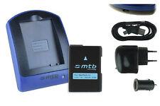 Baterìa+Cargador (USB) EN-EL14 para Nikon Coolpix P7000, P7100, P7700, P7800