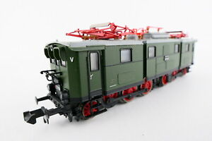 Brawa 1250 E-Lok BR E 77 10 der DR, grün, Museumslok, OVP, (Y408)