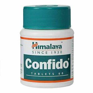 10 PC x 60 Tablets Himalaya Herbal Confido 600 Tablets - Free shipping