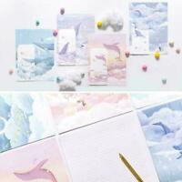 Stationery 3 Letter Envelope Set + 6 letter paper writing pape cute Variety U9E7