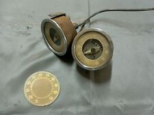 Instrument gauge fuel 4/4 benzina oil speedometer Fiat 500 Topolino C Belvedere
