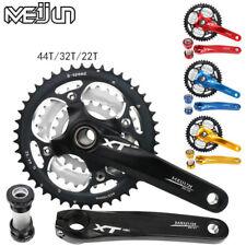 22/32/44T Triple MTB Bike Chainring Crankset BB Crank For Shimano SRAM