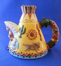 Reduced! Native American Teepee Teapot Omnibus 1993 Excellent condition