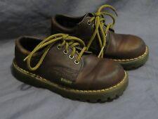 27df8fe1d4f7f Enfants Original Vintage Dr.Martens Angleterre Marron Chaussures à Lacets