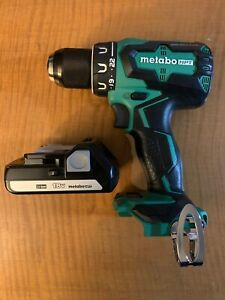 Metabo 18v Cordless Driver Drill w/ battery Model DS 18DBFL2